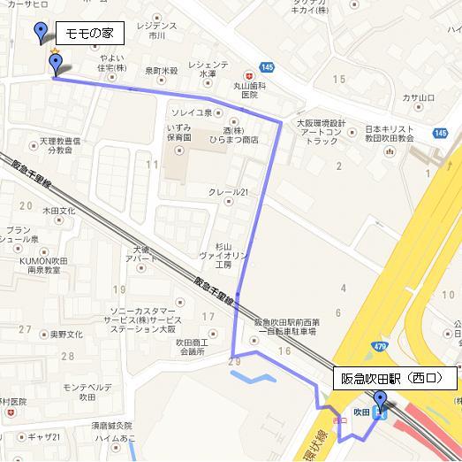 モモの家 地図